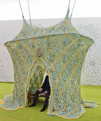 Ernesto Neto Casa de cura, 2016 Foto Petri Virtanen, Finnish National Gallery
