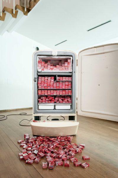 Vista de la exposición | Humberto Diaz, Aliento © Annamaria La Mastra
